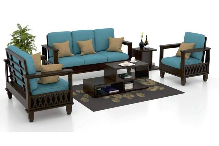 Cool Simple Wooden Sofa Set Designs The Best Ones Homonk Download Free Architecture Designs Jebrpmadebymaigaardcom